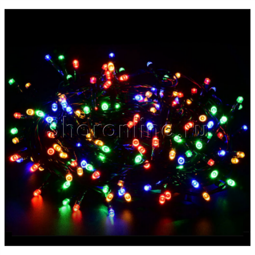 Фото №1: Светодиодная гирлянда Разноцветная 5 м