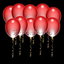 Светящиеся красные шары с диодами
