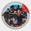 "Фото №1: Тарелки ""Бэтмен против Супермена"" 8 шт"