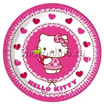 """Тарелки """"Hello Kitty"""" 17 см"""