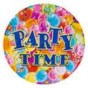 "Фото №1: Тарелки ""Party time"" 6 шт"