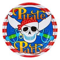 "Тарелки ""Пираты"" 6 шт"