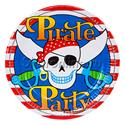 """Фото №1: Тарелки """"Пираты"""" 6 шт"""