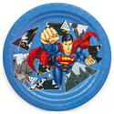 """Фото №1: Тарелки """"Супермен"""" 6 шт"""