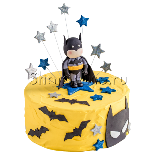"""Фото №1: Торт """"Бэтмен""""  от 3 кг"""