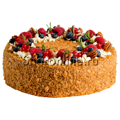 """Фото №1: Торт """"Медовик сметанный"""" 1,7 кг"""