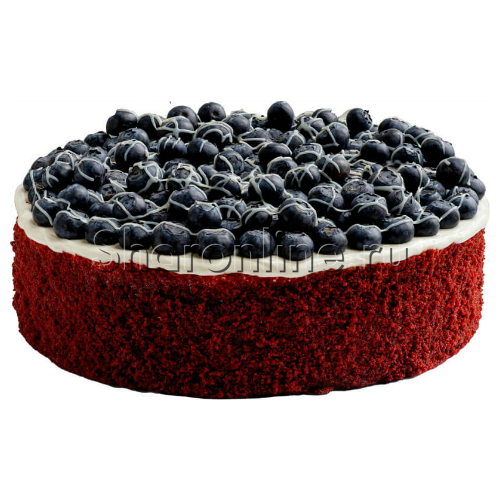 """Фото №1: Торт """"Ред Вельвет"""" 2 кг"""