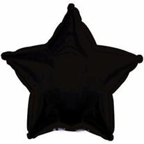 Звезда черная 46 см